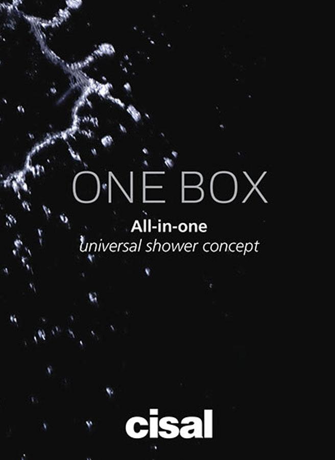 Cisal One Box portada catálogo general